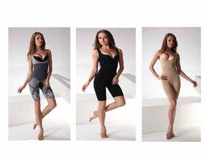Nuevo Bambú Natural Adelgazante Body Suit Shaper Control firme Anti Celulitis Ropa interior Cuerpo completo adelgazamiento adelgazamiento entrenamiento de la cintura