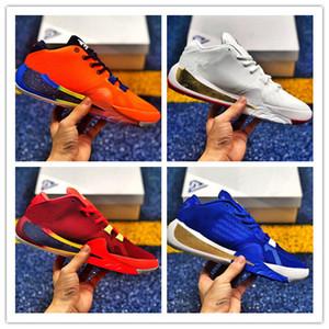 2019 New Giannis Antetokounmpo Freak 1 Melhor Qualidade Mens Basquetebol Sneakers Zoom GA I 1S Assinatura Sapatos Tamanho EUR 40-46