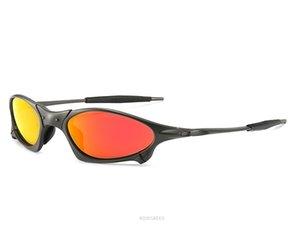 Lunettes de soleil polariséesOakleylunettes de soleil mens classique ROMEO alliage femmes cadre du vélo Lunettes UV Protection lunettes de soleil de luxe