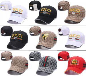 Good Hot 2019 Designers Mens Baseball Caps 새로운 브랜드 Tiger Head Hats 골드 수 놓은 뼈 남성 여성 casquette Sun Hat gorras 스포츠 모자