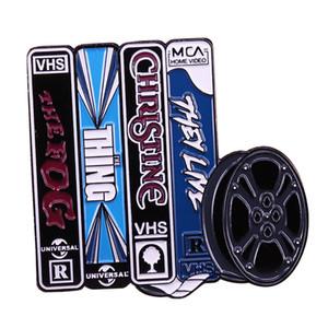 Джон Карпентер VHS коллекция эмали булавку с рулона пленки дополнительный дизайн чутье дар бойфрендом прохладный вентилятор ужас