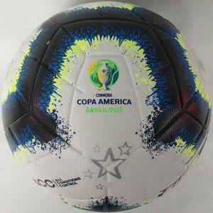 Hohe Qualität Copa America Fußball-Finale KIEW PU Größe 5 Bälle Granulat Rutschhemmende Fußball Freie Verschiffen-Qualitäts-Kugel