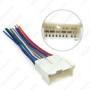 atacado Car OEM de áudio estéreo cablagem Adapter Para Hyundai / Kia (01 ~ 05) Instale Aftermarket CD / DVD Stereo # 2053