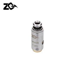 100% Teste originale ZQ MOOX bobine sostitutive atomizzatore Nucleo 0.6ohm Mesh 1.2ohm Ni-Chrome per ZQ MOOX Kit Ecig Vapor Vape Coil