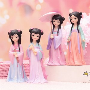 Chinese Traditional Beautiful Princess Beauty Dolls Cute Birthday Gifts Eastern Culture Model Ornaments 2020 for Girls Birthday Holiday Gift