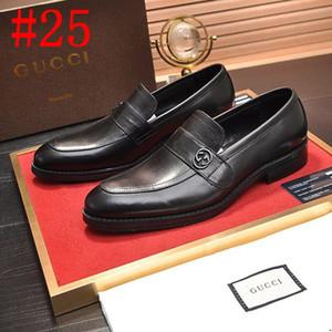hommes 20SS chaussures robe en cuir chaussures hommes formelles bureau hommes chaussures élégantes marques coiffeur de luxe Zapatos de Vestir hombre Bayan AYAKKABI