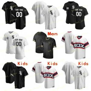 Custom Cualquier Nombre Número 74 Jimenez 2020 Baseball Jersey 10 Moncada 79 Abreu 7 Anderson 55 Rodon 27 Giolito 60 Keuchel 23 Encarnación cosido