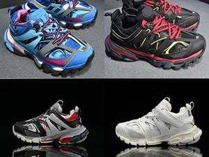 2020 nuovi Parigi V3 per il tempo libero delle donne degli uomini blu scarpe da corsa piattaforma tripla da jogging di viaggio Star Trek Trekking scarpe da ginnastica scarpe sportive EUR36-45