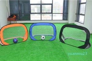 Atacado de 2018 Crianças Movimento Futebol tenda ao ar livre Indoor dobrável para jogo de futebol Tent Atividade multi -Funcional Praia Toy Pop Up
