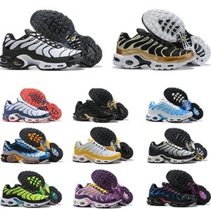 Running Shoes Shoes Tn Mens Black White TN Mais de 97 Ultra Ténis baratos Requin Running Shoes Sneakers Chaussures Olive Carga GS