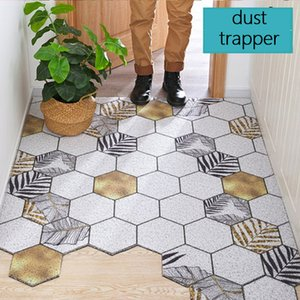 Extra Durable PVC Rubber Door Mat Heavy Duty Diamond Plaid Indoor Outdoor Rug Waterproof Easy Clean Doormat for Entry Garage Y200527
