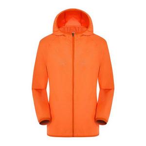 Мода Quick Dry Skin ветровка защита от солнца Анти-УФ Пальто Спорт на открытом воздухе Одежда Отдых На Природе куртка кожи 10 шт. За лот