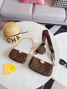 Crianças Gem Little Messenger Bag Desinger Pingente senhora embreagem de couro série de luxo bolsas mulheres designer de Três peças Suite 2
