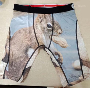 Ethika Mens Praia Underwear Verão Boxers 3D Printed Hulk Swim Shorts Cuecas