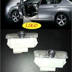 Jurus voiture Porte lumière Logo Badge lumière Led emblème Pour Infiniti FX35 FX37 qx70 G35 G37 QX56 qx60 Q50 Gyrophares voiture-style