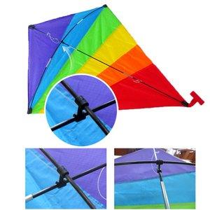 Cerf-volant pour adultes enfants Easy Flyer arc-en-Cerfs-volants Best Beach été en plein air Jouet durable en nylon Kite. # BLC