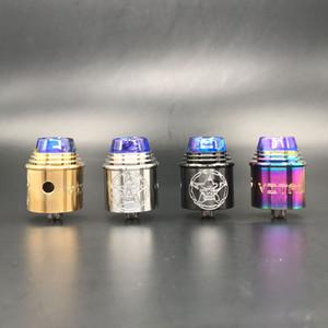E-cigarro Apocalypse GEN 3 RDA Atomizador Vape Enorme com Furo Largo Ponta do Gotejamento 24mm PEEK para 510 fio Eletrônico Vape cigarro