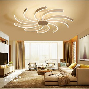 FULOC Creative Fashion Ceiling Lamp Led Ceiling Light for foyer Living room Bedroom Kitchen White Ceiling Lamp