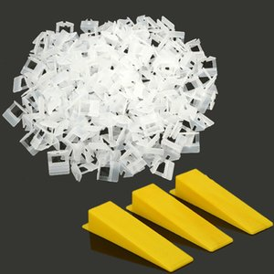 Tile Leveling Spacer System Levello Light Clips Wedges Pliers Lippage Level Construction Tool for Garden Bathroom Wall tiles