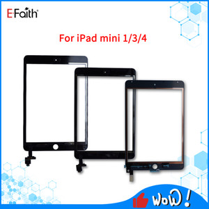 Touch Screen For iPad mini 1 2 3 4 Digitizer Screen Glass Replacement For iPad Replacements with IC Adhesive Full Assembly