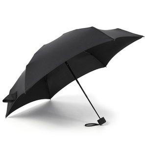 Yetişkin Küçük Moda Katlanır Şemsiye Yağmur Kadınlar Hediye Erkekler Mini Cep Parasol Kızlar Anti-UV su geçirmez Taşınabilir Seyahat ŞEMSİYELERİ
