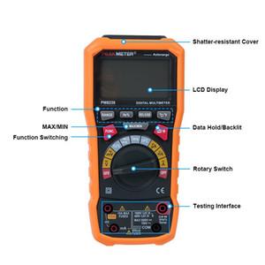 Freeshipping 8236 Auto Manual Range Multímetro Digital com TRMS 1000 V Temperatura teste de frequência de capacitância