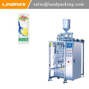 Máquina de envasado de bolsitas líquidas de mejores ventas Máquina de llenado de palitos de mayonesa Máquina de envasado de múltiples carriles