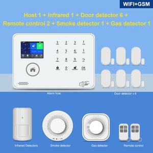 HOT sem fio 433MHz Wifi remoto controle de alarme de Tuya inteligente 3G 4G GSM Home Sistema de Segurança