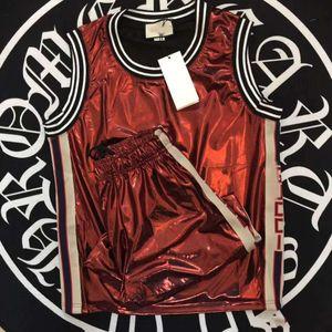Italie Marque Medusa Costume De Mode À Manches Courtes Costume de haute qualité Men Designer Suits Sweat Vêtements Survêtement Survêtement Costumes