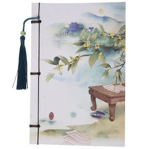 Vintage tassel Notebook Vintage Style Notebook Diaries with Tassel # 11