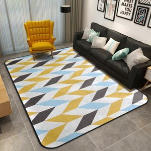 Creative Abstract Design Bathroom Carpet Big Size Mat Rug For Livingroom Bedroom 7 Colors Bath 1 Piece