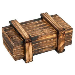 مقصورة خشبية ماجيك الخديعة صندوق الإبداعية الدماغ دعابة المنطق التعليمية متعة درج لغز سر خدعة مربع YH1756