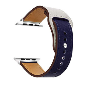 Nuevo cuero Correas deporte del silicón del diseño del wirst Bandas correas de reloj banda de la hebilla de la correa de reloj de Apple 38/40 mm 42/44 mm para la serie iWatch 2 3 4 5