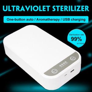 Utile Cleaner portatile Personal UV LED Sterilizzatore di Sterilizzatore LED / Scatola di disinfezione per monili di disinfezione della maschera del telefono