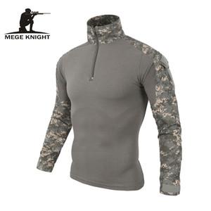 Camuflagem uniforme militar exército camisa de combate carga multicam Airsoft paintball militar roupas tática com joelheiras T191223
