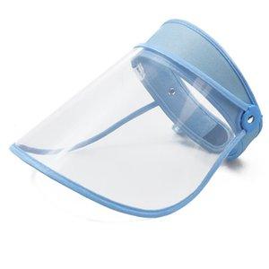 안티 드룰 생활 방수 모자 도매 AJJ323 둘레 6 색 안티 침 보호 모자 방진 커버 관모 조절 헤드