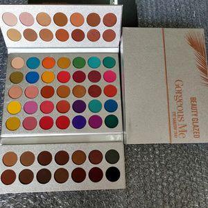 Beauty Palette per ombretti vetrate Gorgeous Me 63 Colour palette per ombretti B37 # ombretti Shimmer Ombretti opachi Palette di alta qualità