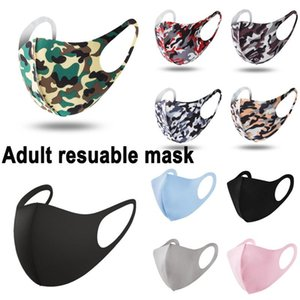 Adult face Mask Mouth nose protection cotton masks reusable washable fashion Anti-dust masks dust proof Fast delivery