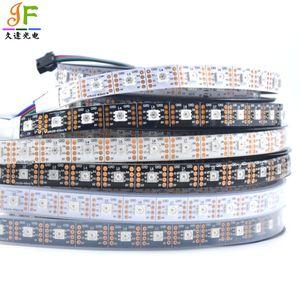 Tira do diodo emissor de luz de 1M / de 5M APA102-C SK9822 30 60 144 diodos emissores de luz do diodo emissor de luz da cor cheia do diodo emissor de luz / M 5050 RGB cor completa diodo emissor de luz da tira 2 DC5V DAT CLK GND