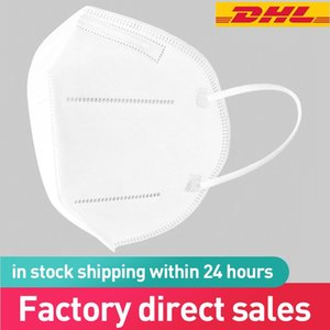 In Stock DHL Free Shipping Mask 5 Layers face Masks Protective High quality manufacturer dustproof mouth Masks DHL Fast Shipping