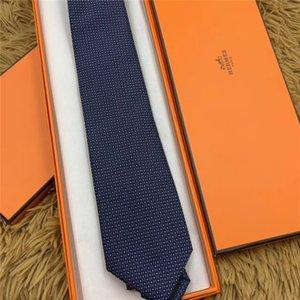Cravatta da uomo di alta moda firmata da uomo di alta qualità in seta da lavoro cravatta abiti da lavoro cravatta regalo di nozze confezione da 8 cm confezione regalo