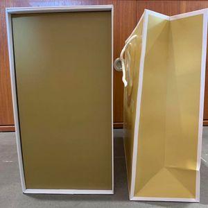 مصمم أجزاء أجزاء الملحقات مربع الأصلي مربع مصمم حقيبة يد صناديق هدية محفظة حقيبة يد 28/23/36/41 / 50 سنتيمتر لحقيبة التسوق