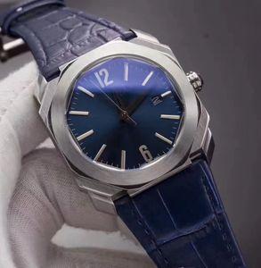 10 Farben beobachten Männer 42mm Quarzuhren 1905 tick Bewegung OCTO Batterie haben Uhren Leder Edelstahl 23120