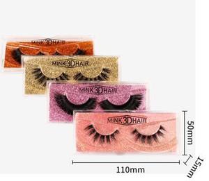 10style 3D Faux Mink Wimpern Nerz-Haar-gefälschte Wimper lange starke Kreuz natürliche Erweiterung Eye Lashes Augen Make-up GGA3041-3
