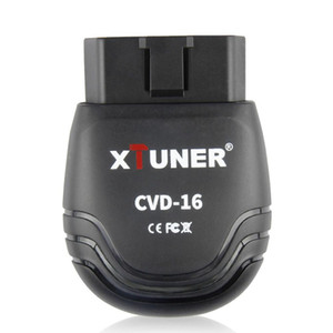 12V / 24V Scanner véhicule OBD2 XTUNER CVD-16 Outil de diagnostic Android Scanner Bluetooth pour Heavy Duty Truck Car OBD 2 Scanner