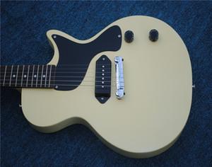 Free Shipping Billie Joe Armstrong Junior Double Cut white OEM chibson Electric Guitar guitars guitarra