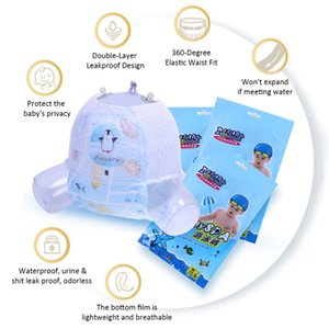 New Baby Little Swimmers Disposable Swim Diaper Comfortable Breathable Waterproof Swimpants drop shipping