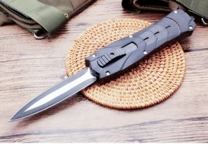 Мстители ABS ручка двойного действия самообороны складной edc нож autotf нож автоматические ножи рождественский подарок Adul
