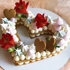 3pcs Heart Shape Cake Mold Cake Decorating Tools Confeitaria Maker Baking Anniversary Bakeware Pastry Tools 6 8 10