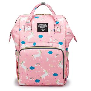 atinfor Upgrade Unicorn Mummy Bag Multi Oxford Cloth Waterproof Function Baby Diaper Bags Travel Maternity Baby Backpack for Mom
